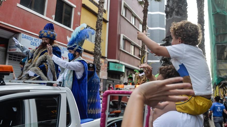 Caravana de los Reyes Magos en Las Palmas de Gran Canaria