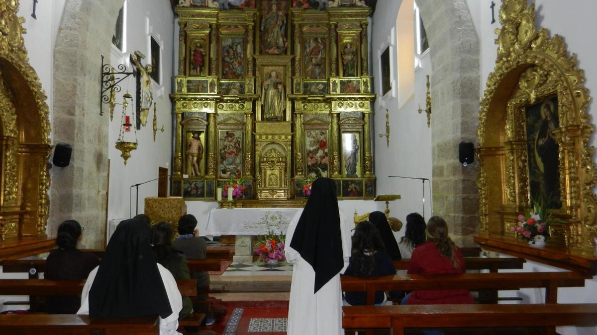 Iglesia del convento de Santa Sofía que acogerá la misa del noveno centenario de la orden