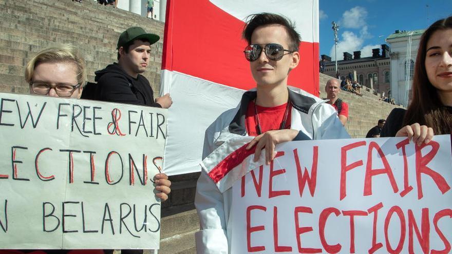 La UE pide a Bielorrusia repetir elecciones