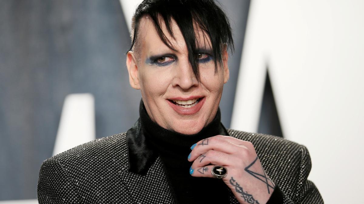 El cantante Marilyn Manson