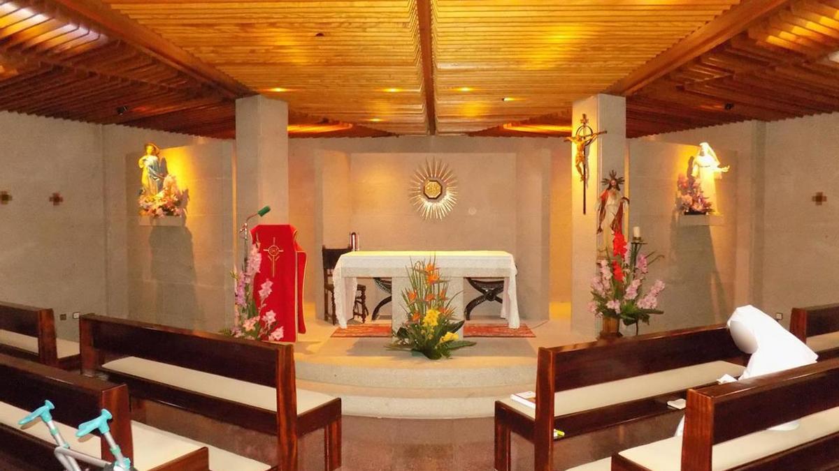 Capilla de la residencia de franciscanas de Tui