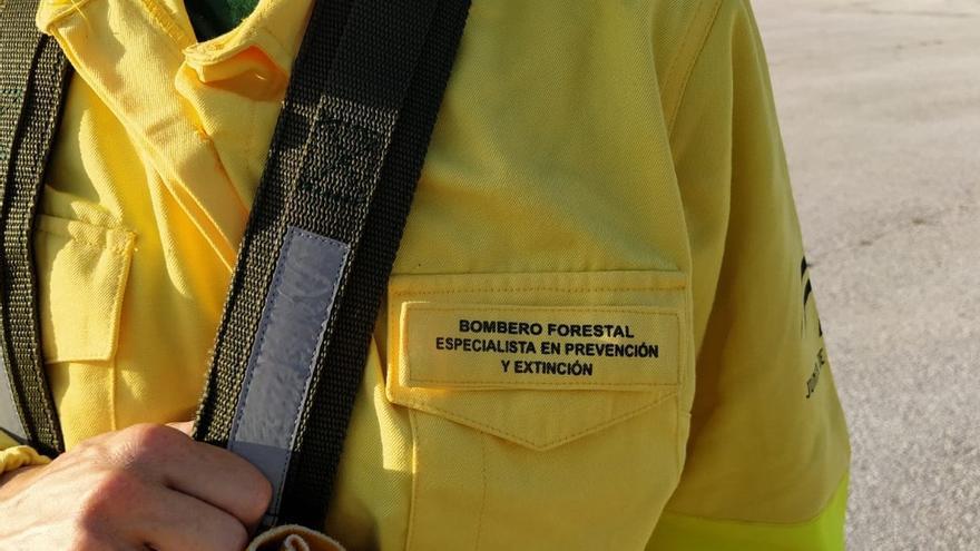 Declarado un incendio forestal en Serrato