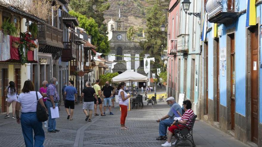 Teror echa de menos a Gran Canaria, en una víspera sin ofrenda ni romería