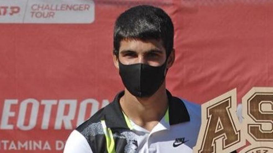 Carlos Alcaraz sube 31 puestos y se coloca 158 del ránking mundial