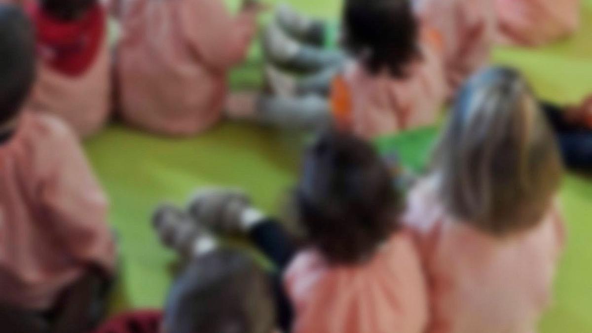 Un grupo de niños de Benavente.   E. P.