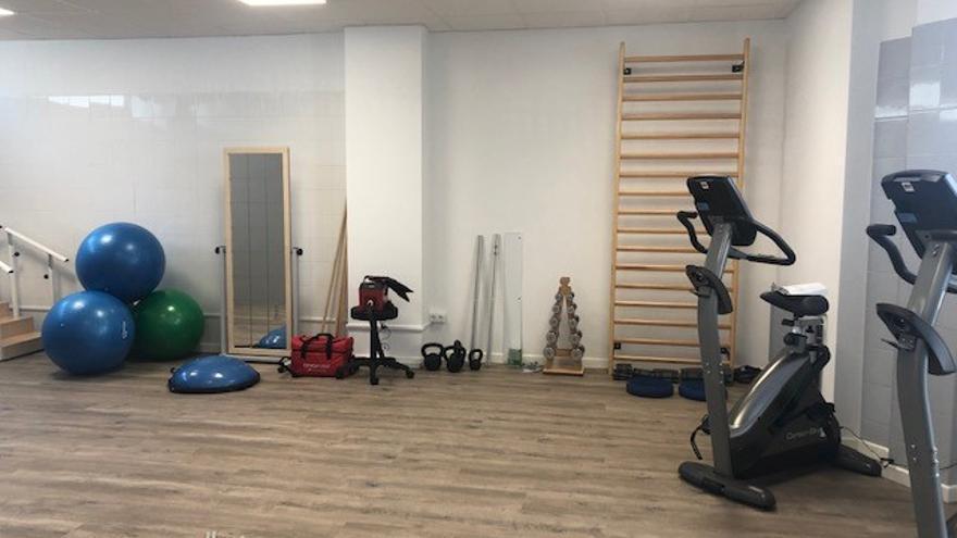 Nueva unidad de fisioterapia de atención primaria en el centro de salud de Vilanova