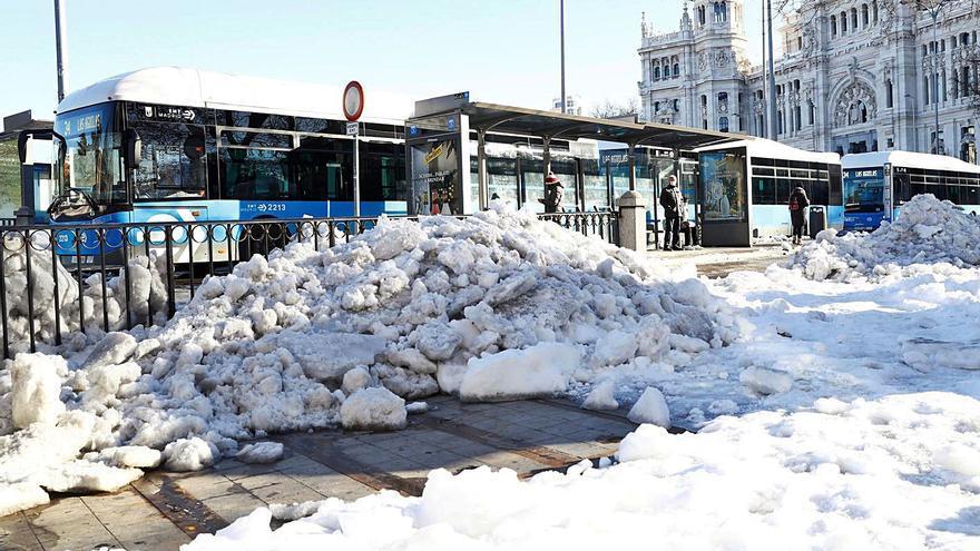 España se congela al registrar las temperaturas más bajas en 20 años