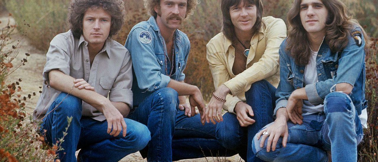 La formación original de los Eagles: Don Henley, Bernie Leadon, Randy Meisner y Glenn Frey. Henry Diltz Photography & Morrison Hotel Gallery