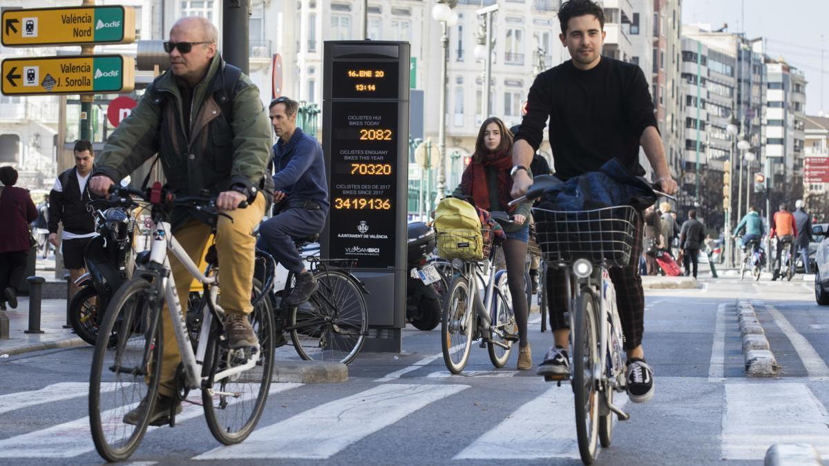 València, la mejor ciudad para ir en bici de España