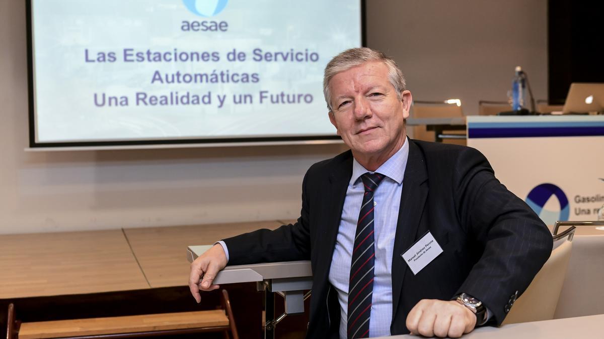 El presidente de AESAE, Manuel Jiménez Perona.