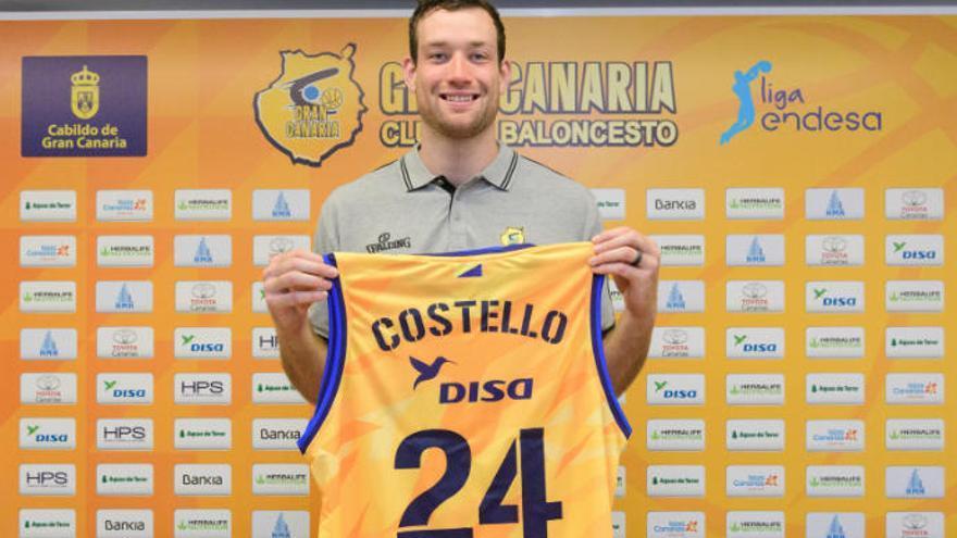 """Costello: """"Elegí el Granca porque quiero mejorar mi reputación"""""""