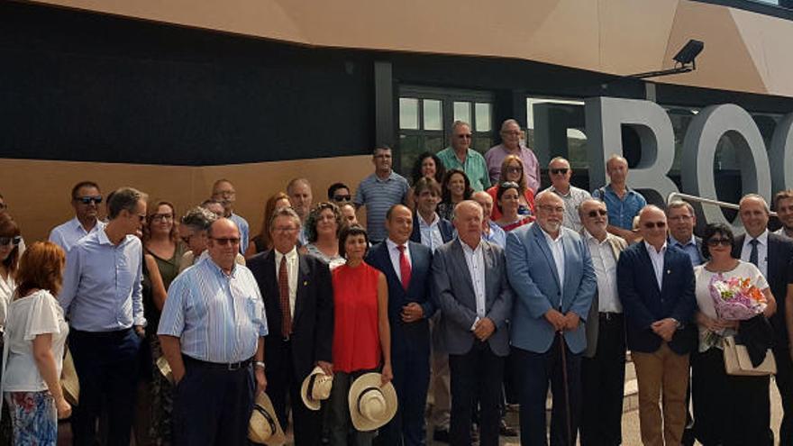 Bocopa escenifica el inicio de la vendimia en la DOP Alicante