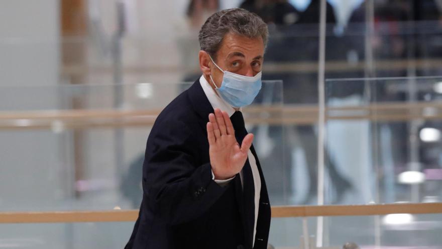 El expresidente francés, Nicolas Sarkozy