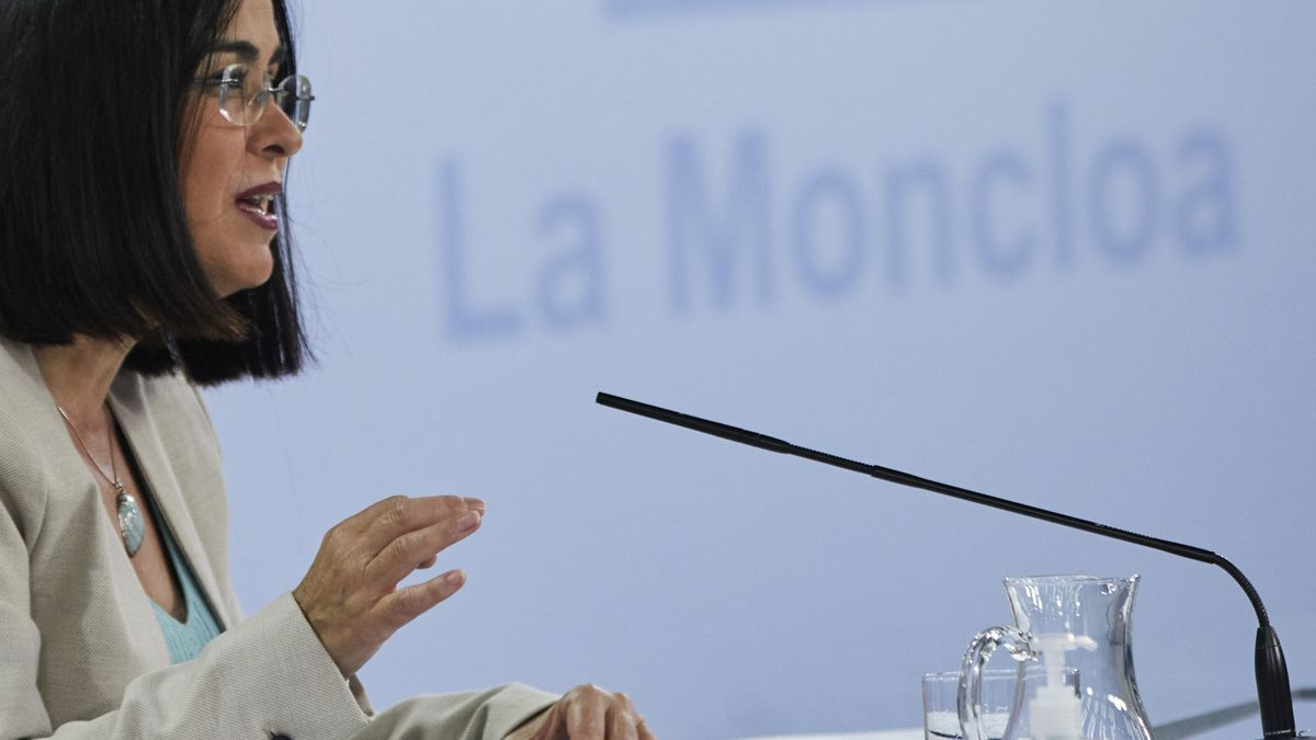 The Minister of Health, Carolina Darías.
