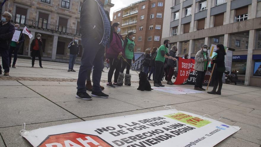 Así ha sido la concentración en Zamora capital por la gestión de la crisis sanitaria