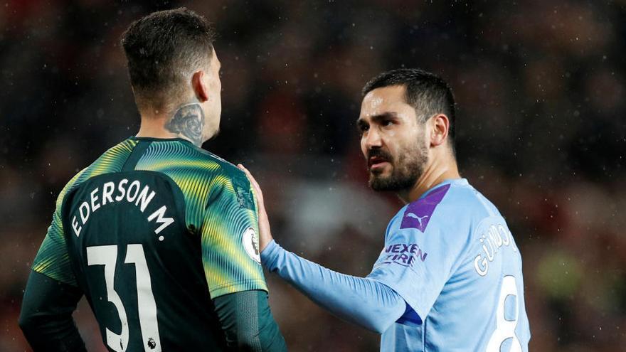 Gundogan, del Manchester City, positivo en coronavirus
