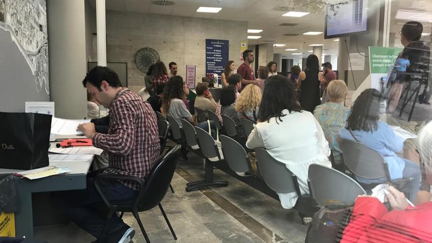 Continúa el aumento de trámites en la oficinas de atención ciudadana de Palma