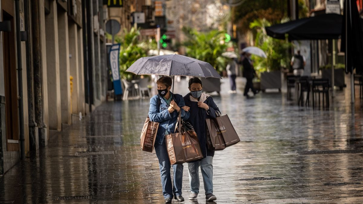 Lluvias en Tenerife