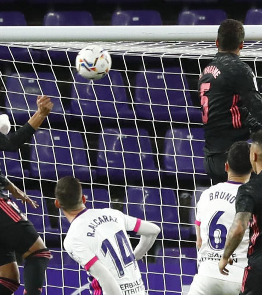 Todos los goles de la jornada 24 de LaLiga: Casemiro hace de '9' en el Madrid