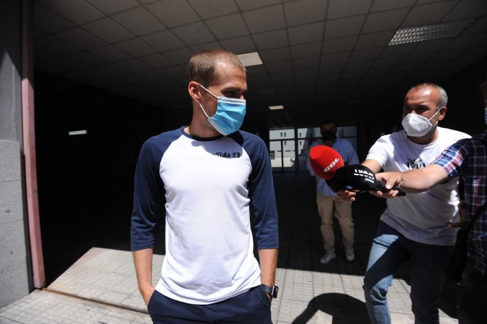 """LaLiga denuncia a Álex Bergantiños por el audio filtrado: """"Estoy muy tranquilo"""""""