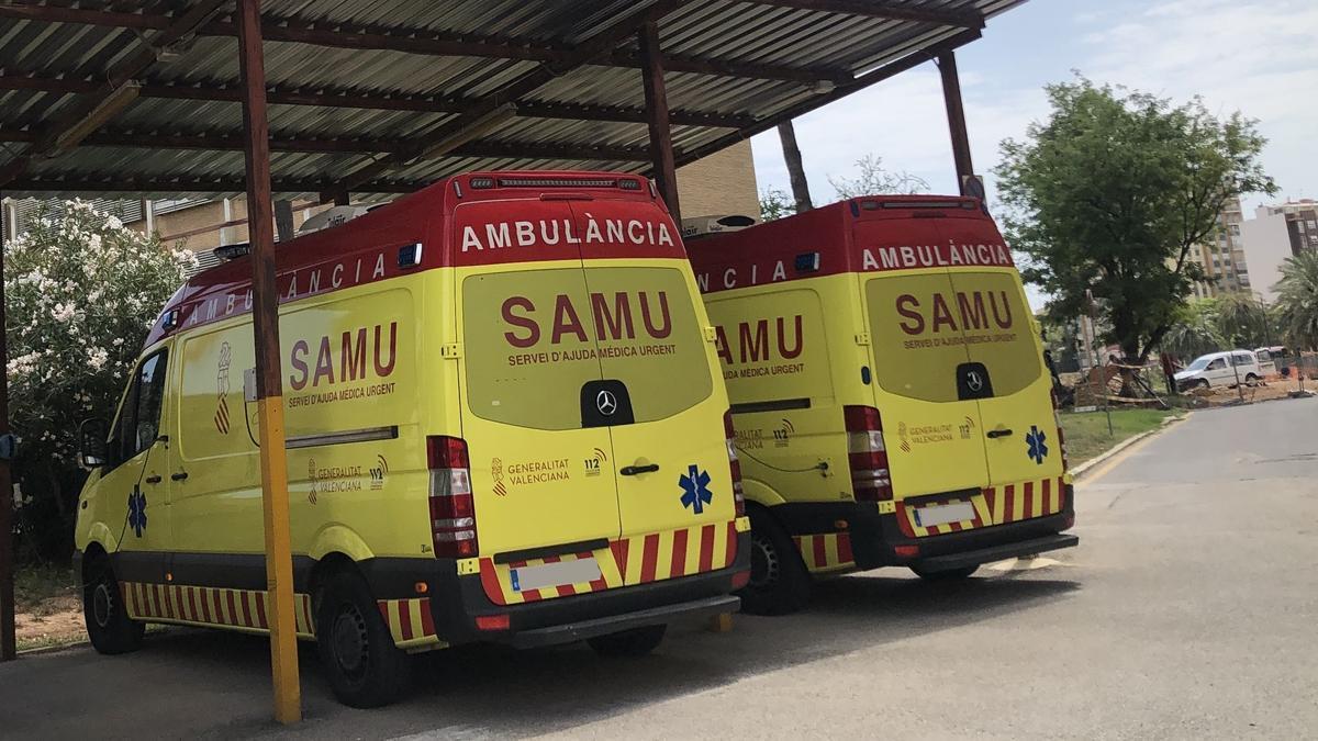 Herido un hombre de 70 años tras caer accidentalmente de un tejado en l'Alcúdia