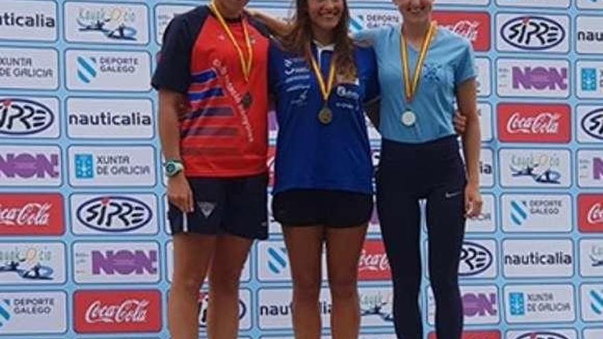 Tania Álvarez y Diego Romero se alzan campeona y subcampeón de España