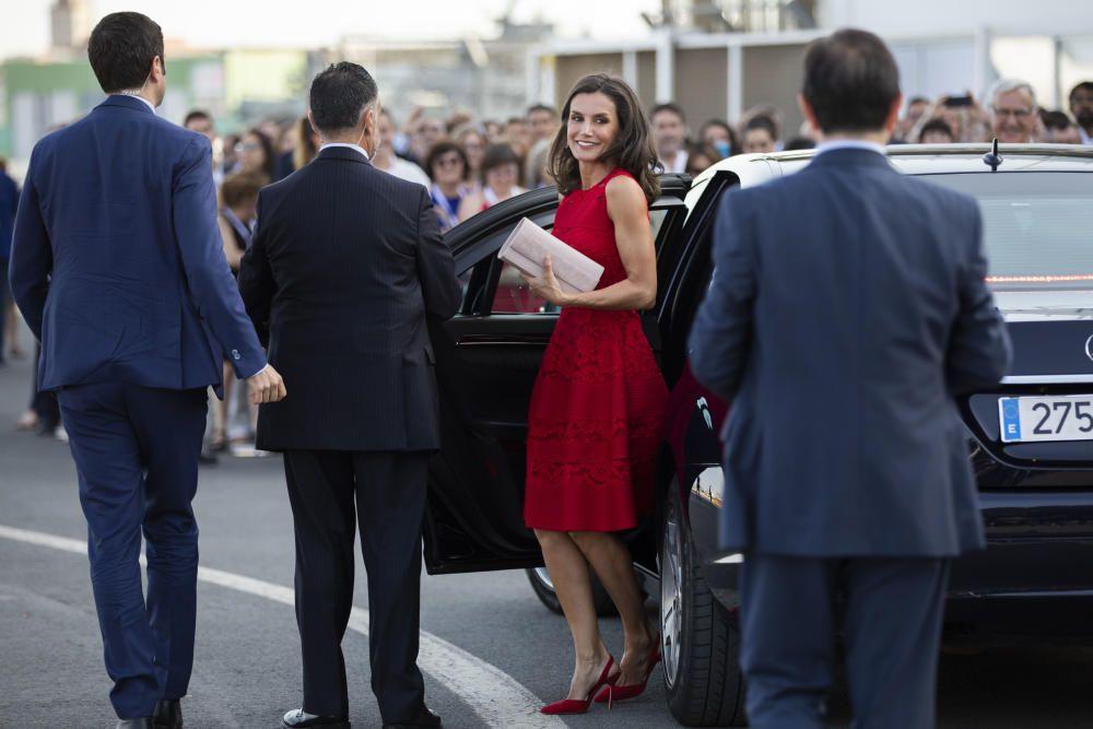 La reina Letizia inaugura el Centro Mundial para la Alimentación Sostenible en València
