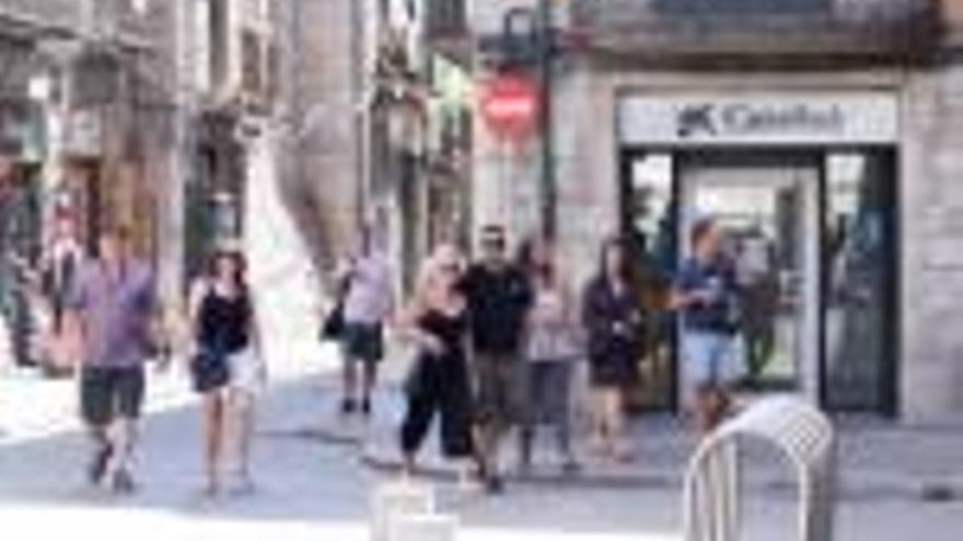 La Caixa tancarà l'oficina de Sant Fèlix  i la trasllada a la plaça Independència