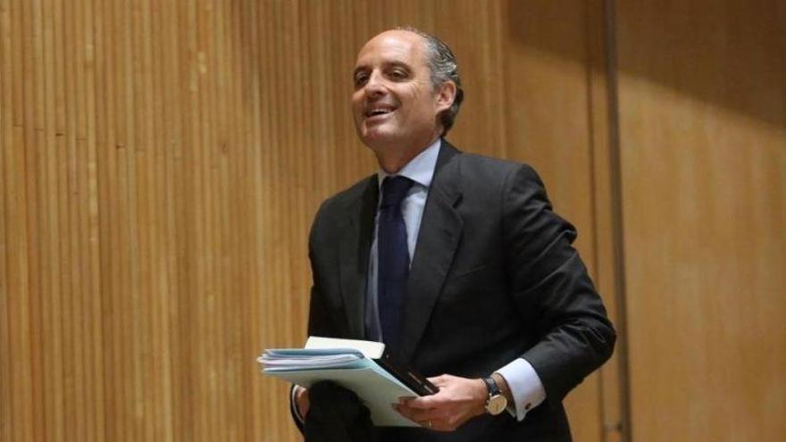 La Audiencia Nacional ordena reabrir una pieza de 'Gürtel' para investigar a Camps