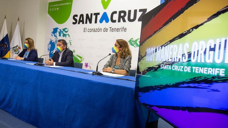 Santa Cruz presume de orgullo LGTBIQ+ hasta en los principales semáforos de la ciudad