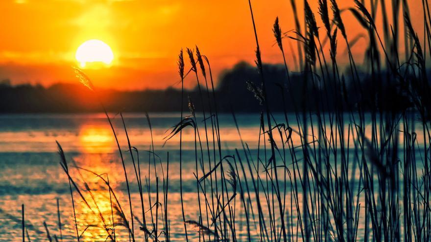 Una puesta de sol entre lágrimas
