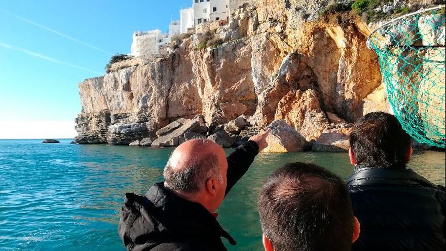 El Gobierno 'pasa' del tómbolo que sustenta el castillo de Peñíscola