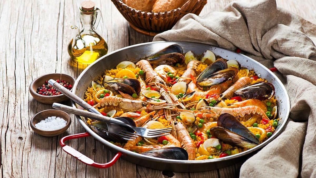Nicht umsonst das spanische Nationalgericht: eine Paella.