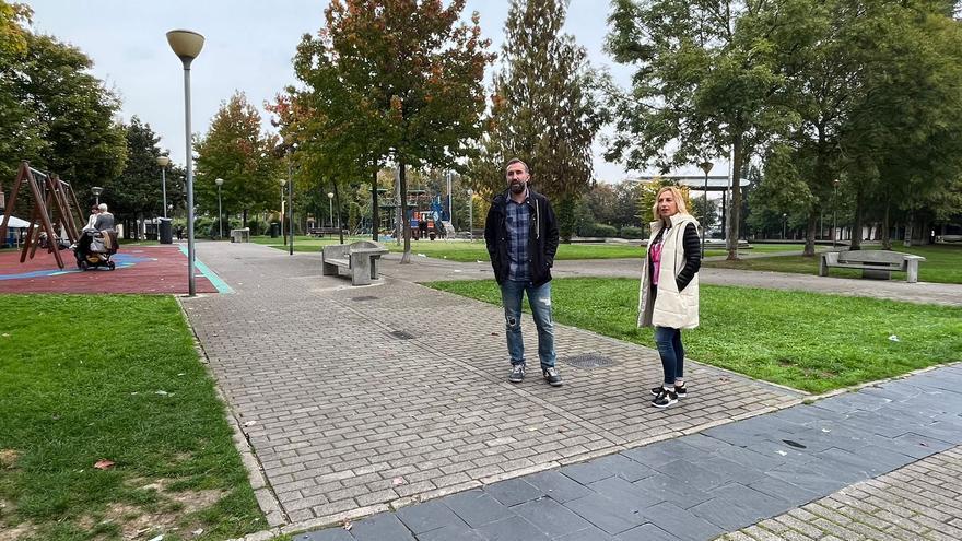 Una rotonda, pasos de cebra, señales y tres ramales: así será el nuevo circuito de educación vial del parque de la paz de Lugones