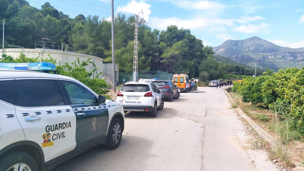 Búsqueda del montañero desaparecido desde el domingo en Xeraco.