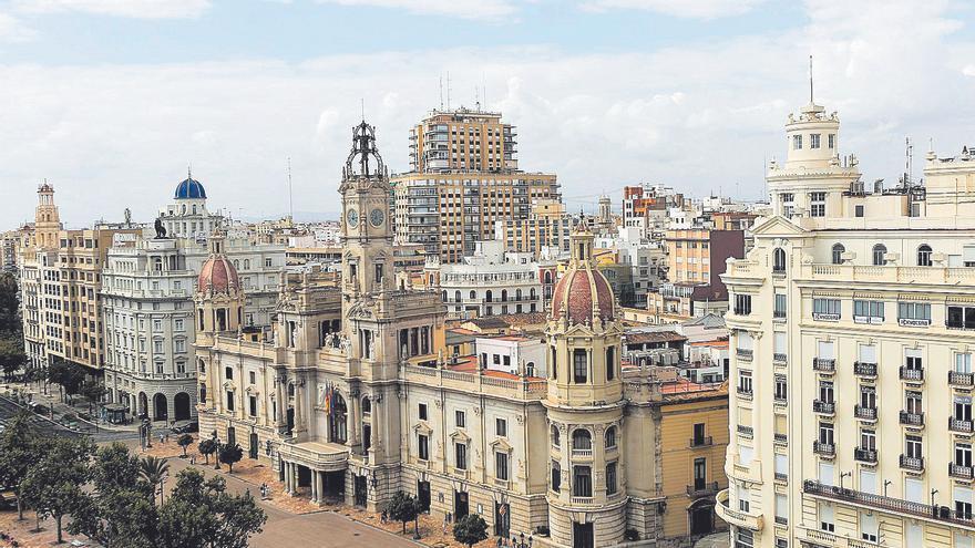 La València de 1936 acogió hasta 58 edificios administrativos y políticos, incluidos 11 ministerios