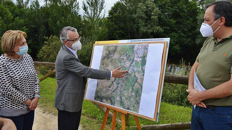 La Confederación recuperará el río Linares a la altura de Amandi, en Villaviciosa