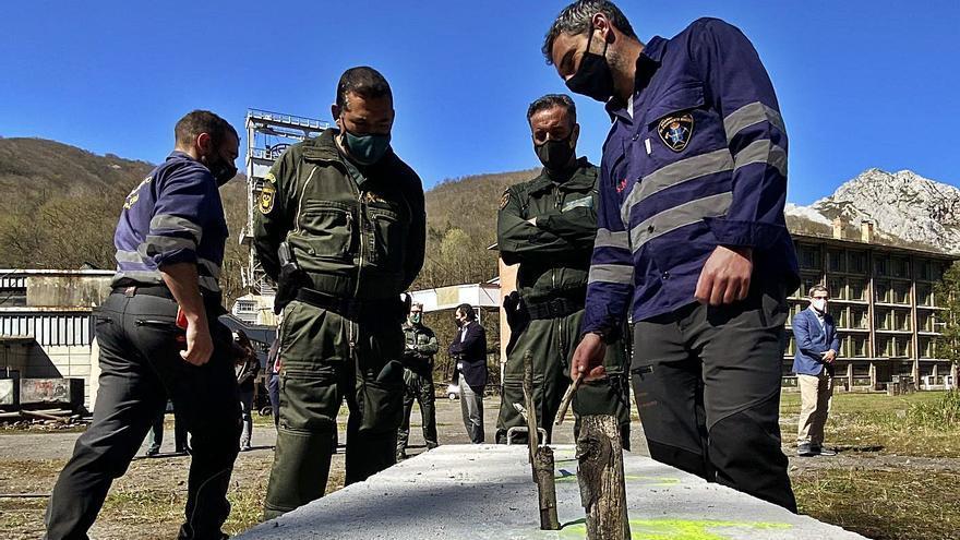 La Brigada Minera formará a 90 agentes de toda España en el manejo de explosivos