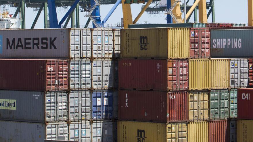Las exportaciones valencianas se hundirán  hasta un 34 % este año