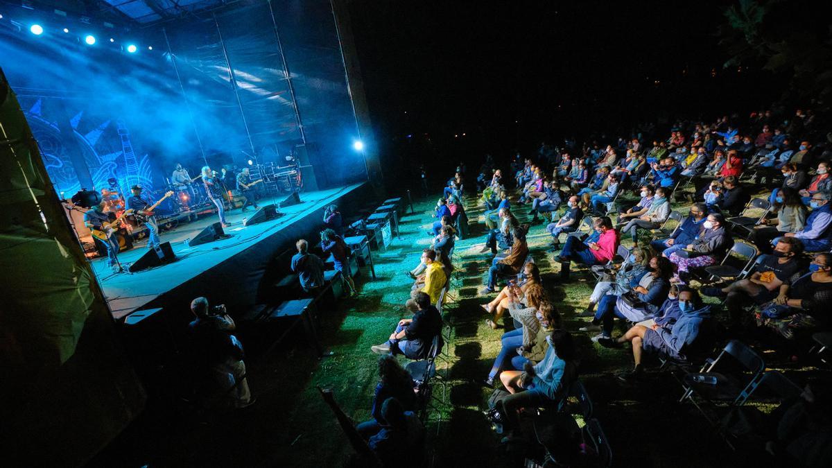 Les Nits de l'Acústica del 2020 al Parc de les Aigües