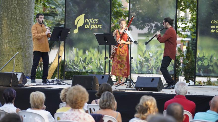 Notes al Parc programa dotze concerts de proximitat per aquest estiu a La Devesa