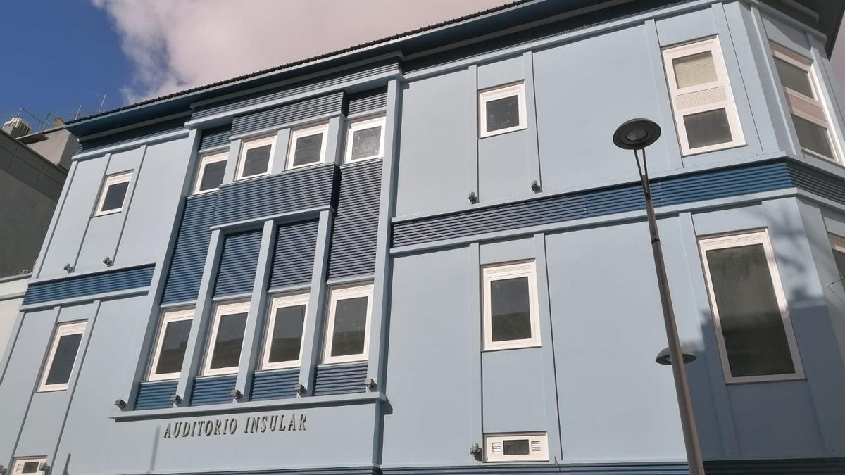 La Gomera cambiará el nombre del Auditorio Infanta Cristina