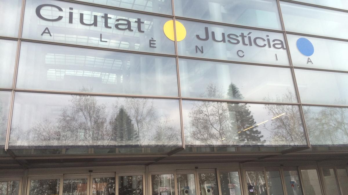 La Ciutat de la Justícia de València en una imagen de archivo