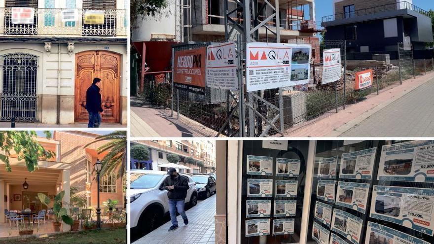 Las casas ganan terreno al piso en Castellón y ya suponen un tercio de las ventas