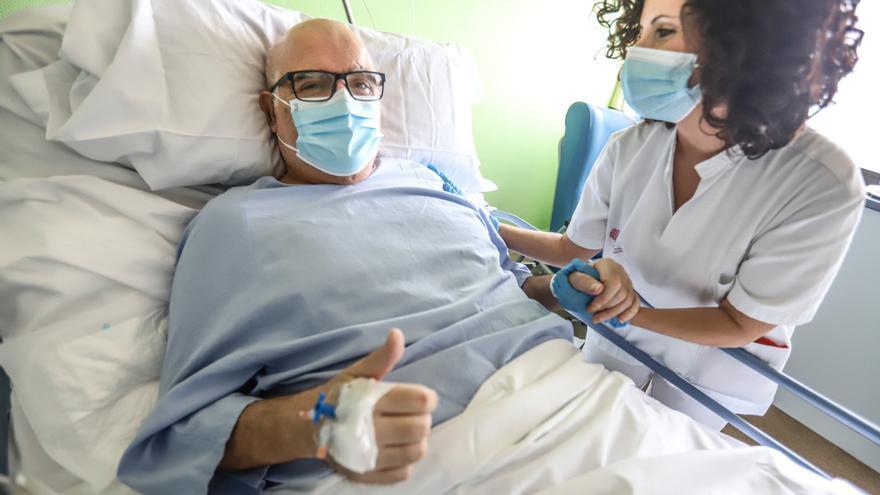 Octavio Bueno, Paciente que ha superado el covid tras 111 días en la UCI