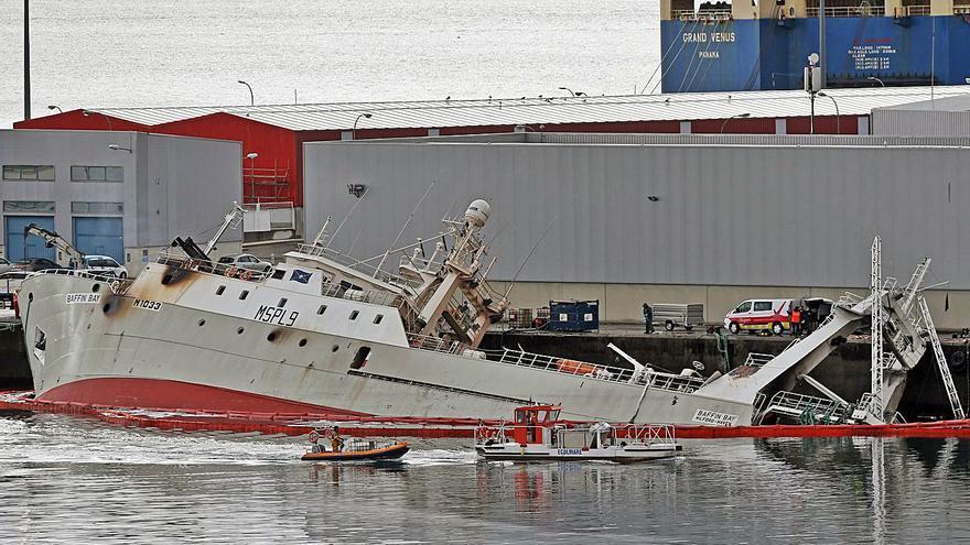 """El (seguido) rescate del """"Baffin Bay"""""""