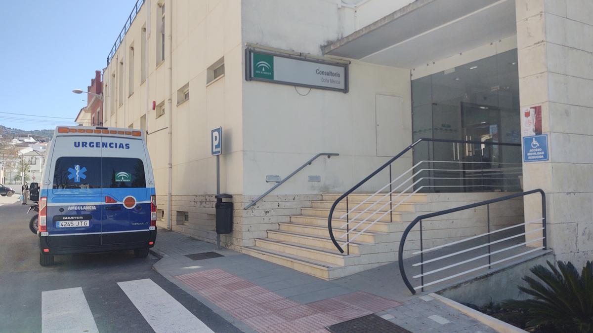 Centro de salud de Doña Mencía.