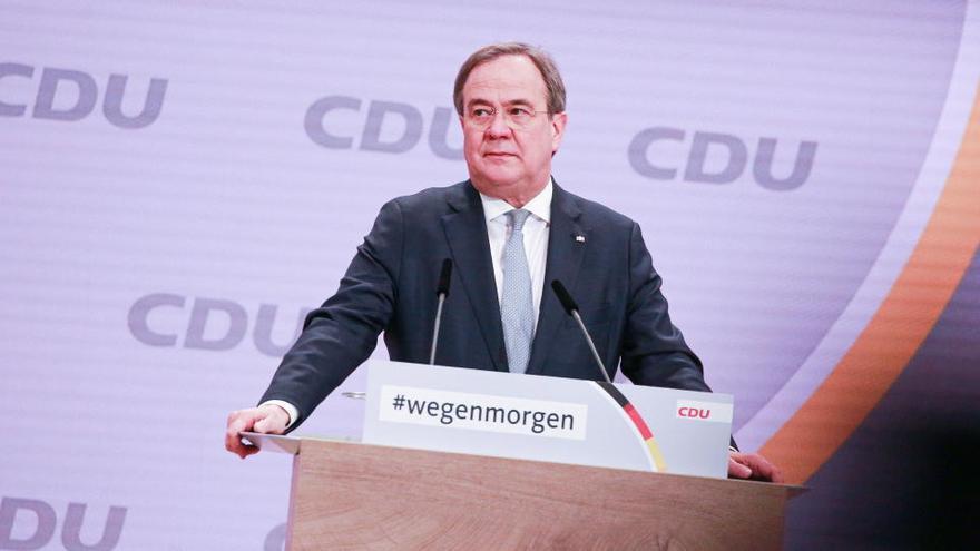 Armin Laschet succeirà a Merkel com a president de la CDU