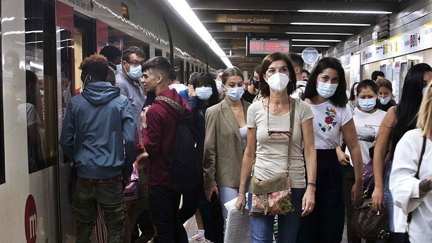 El Día Sin Coche llena los transportes públicos
