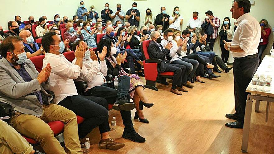 Formoso defiende confrontar ideas en el PSdeG y no personas
